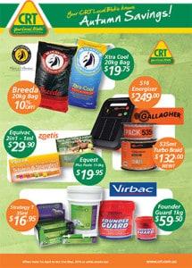 Automn Specials Flyer - Rural Store Supplies - Gleam O' Dawn Rural Store