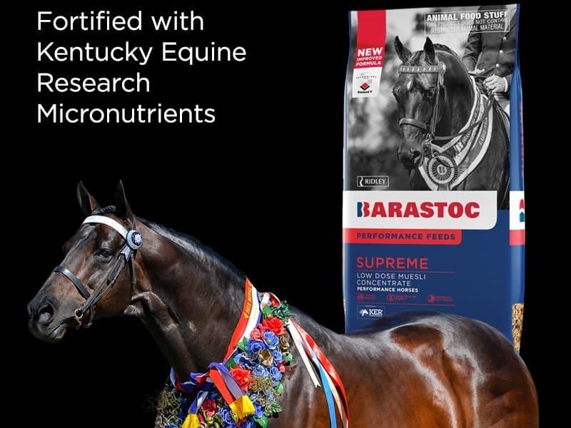Barastoc Supreme Range for horse feeding