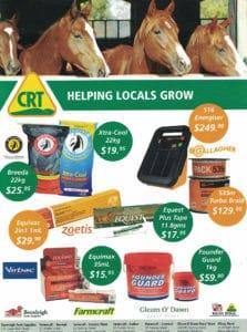 Helping Locals Grow large - Horse Supplies Brisbane - Gleam O' Dawn Rural Store