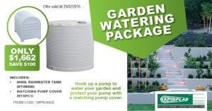 Garden watering package - Garden Supplies Brisbane - Gleam O' Dawn Rural Store