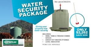 Water Security package - Garden Supplies Brisbane - Gleam O' Dawn Rural Store