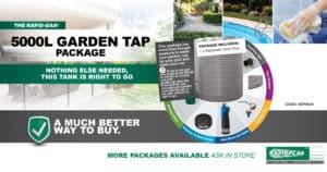 Rapid Easi 5000L Garden Tap Package - Garden Supplies Brisbane - Gleam O' Dawn Rural Store