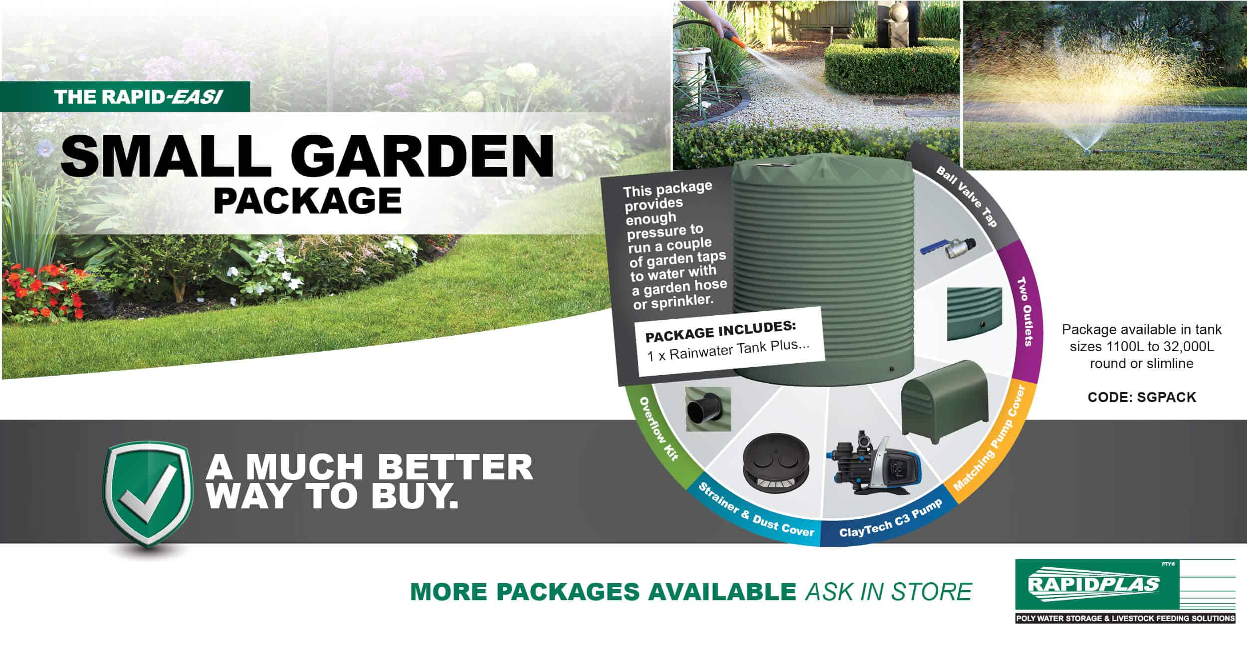 Small Garden Package