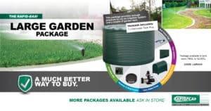 Rapid Easi Large Garden Package - Garden Supplies Brisbane - Gleam O' Dawn Rural Store