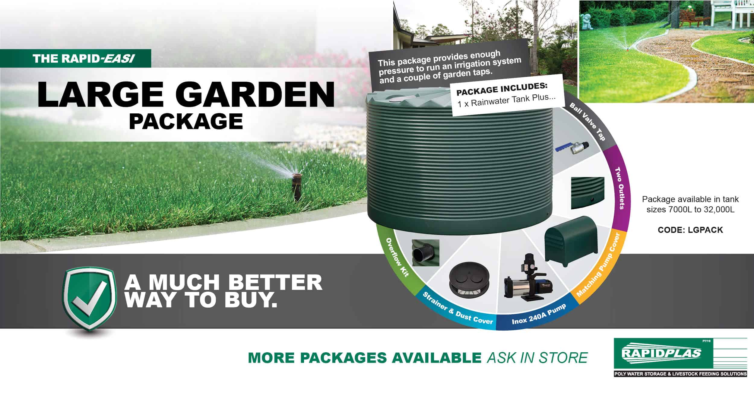 Large Garden Package