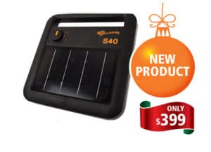 Solar s40 energizer - Rural Store Supplies - Gleam O' Dawn Rural Store