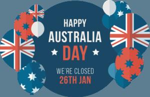 Happy Australia Day banner
