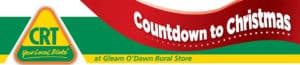 Gleam O Dawn Christmas countdown banner - Rural Store Supplies - Gleam O' Dawn Rural Store