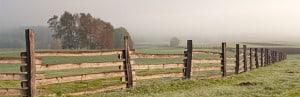 Wooden Fence - Rural Fencing Supplies Brisbane - Gleam O' Dawn Rural Store