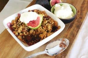 Fig crumble - Produce Stores Brisbane - Gleam O' Dawn Rural Store