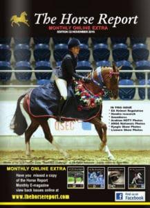 The Horse Report November 2016 - Horse Supplies Brisbane - Gleam O' Dawn Rural Store