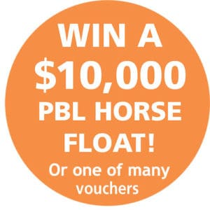 Win a PBL Horse Float - Horse Supplies Brisbane - Gleam O' Dawn Rural Store